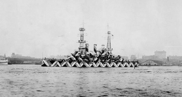 USS Nebraska Dazzled
