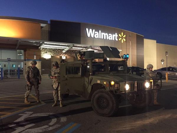 Protecting Walmart in Ferguson