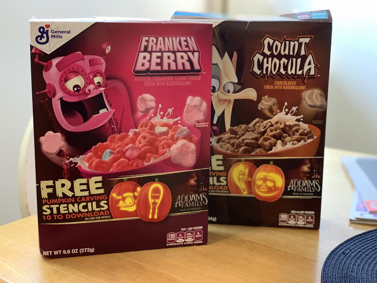 Monster cereals!