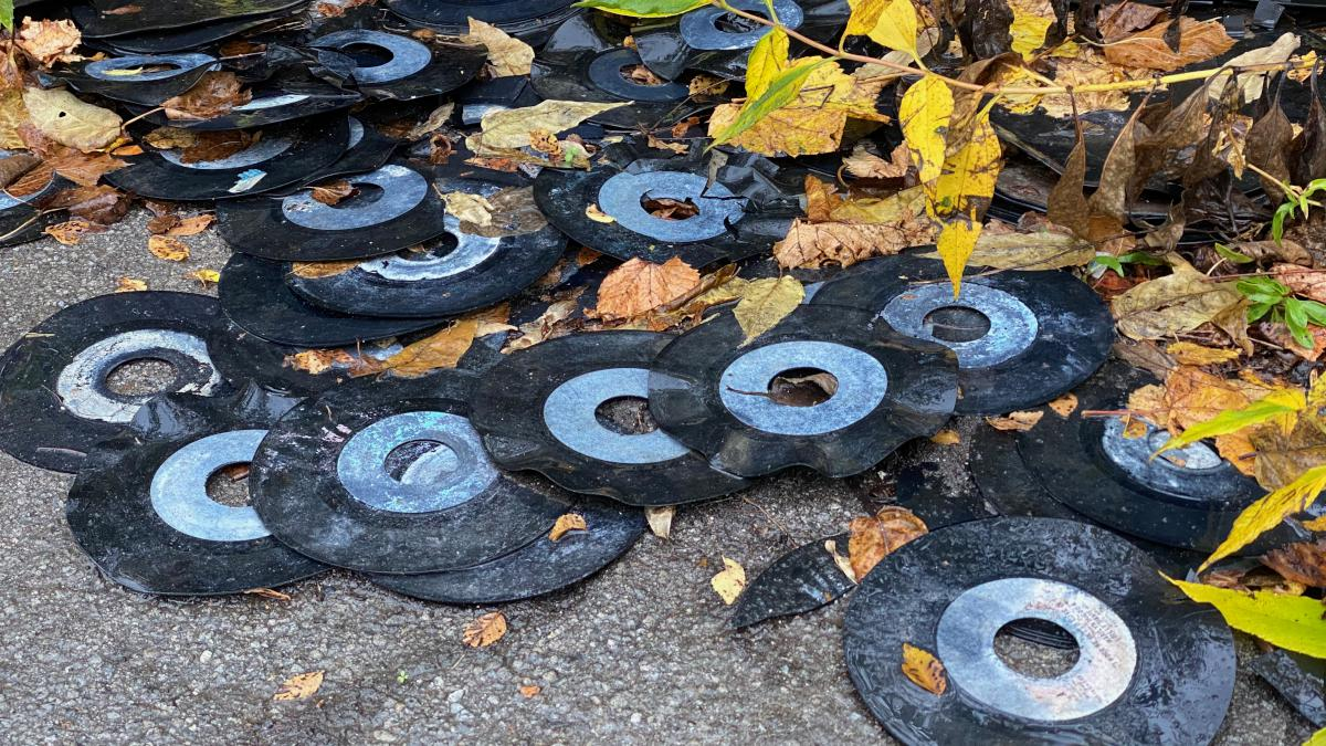 Discarded 45s, Detroit, 2019-Oct-30